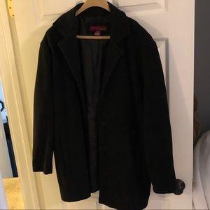 Merona black wool Pea Coat